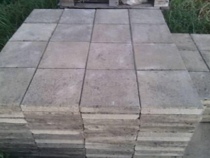 Lot#058 300x300x50mm concrete pavers