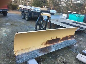 9 foot fisher plow