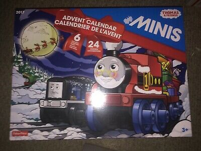 Thomas & Friends ADVENT CALENDAR Minis Engines Locomotives 2017 CHRISTMAS