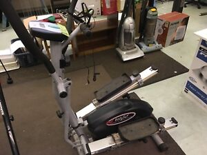 Magnetic elliptical and stepper