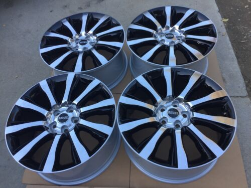 """21"""" New 2016 Range Rover Supercharged Autobiography Wheels Oem Factory. Germany."""