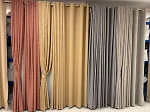 Fabric curtains inventory clearance $5/meter