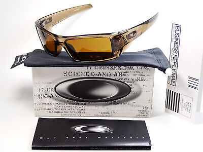 Oakley Gascan Brown Smoke Sonnenbrille Batwolf Monster Dog Doggle Pup Fuel Cell