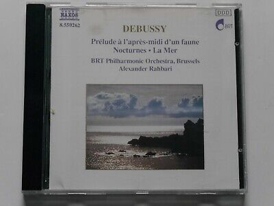 5182 Debussy - La Mer, Nocturnes, Alexander Rahbari CD album