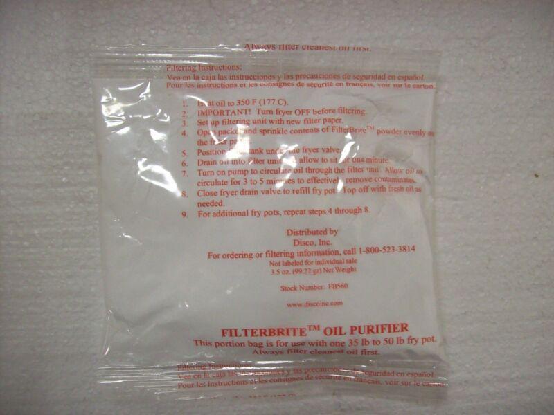 FilterBrite Oil Purifier, 5 Ounce Portion Pack 60 per case