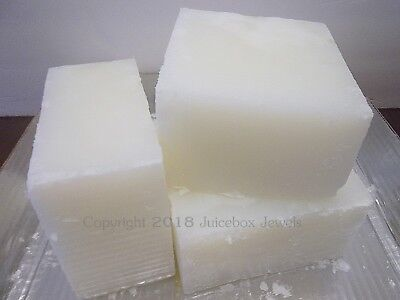 Glycerin Soap Blocks - Stephenson 3 lbs Clear Crystal Natural HF, Melt and Pour Block Soap Base