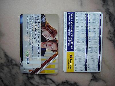 Taschenkalender Postbank 2017 RS paydirekt