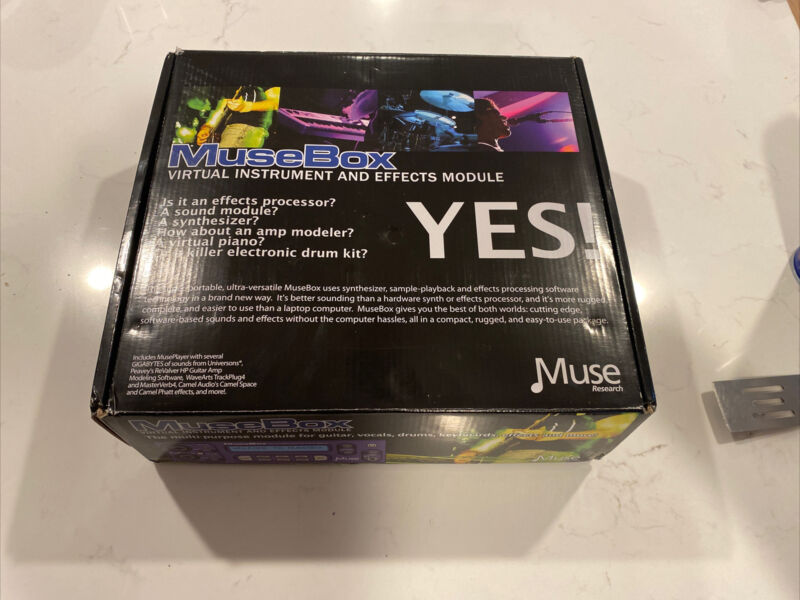 Muse Research MUSEBOX Virtual instrument And Effects Module. EXCELLENT COND