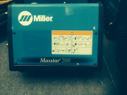 Miler Maxstar 200 Tig welder Brisbane City Brisbane North West Preview