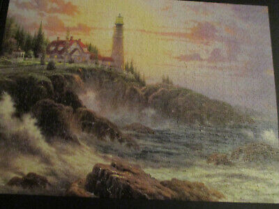 """Thomas Kinkade """"Clearing Storms"""" Ceaco 1000 Piece Puzzle in excellent. Condition"""
