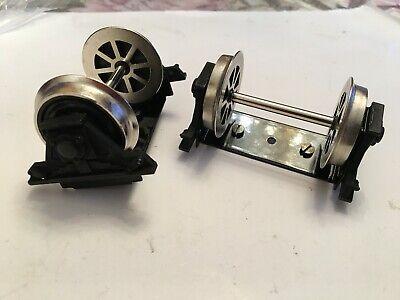 Märklin Spur 1 Maxi 5440 Max Ersatzteil 2 x Radsatz mit Lager Achse für Wagen,