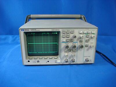 Agilent Hp Keysight 54600b 100 Mhz 2 Channel Digital Oscilloscope