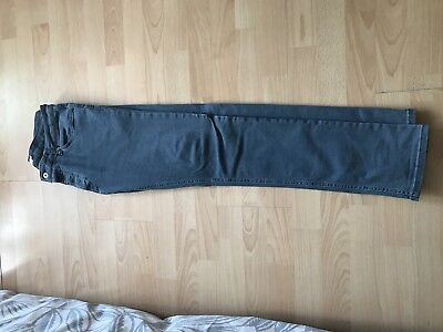 Topman Acne Blue/grey Wash Jeans 34 Skinny