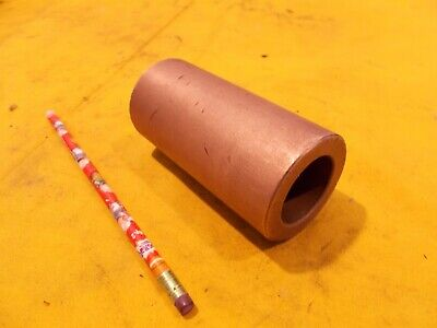 Sintered Bronze Bushing Stock Bearing Round Tube 2 Od X 1 38 Id X 4 316 Oal