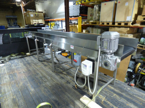 "Stainless Steel Conveyor 24"" X 15"