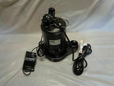 Flotec E100elt 1 Hp Electric Submersible Cast Iron Sump Pump 1 Fpt Discharge