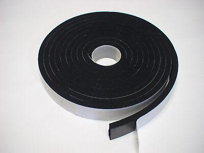Zellkautschuk Moosgummi Vorlegeband Dichtung 5mx25x10mm