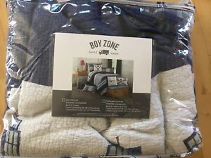 Boys Twin Quilt and Pillow Set