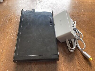 Nintendo Wii U 32GB Black Replacement Console & Power Supply Only • Tested
