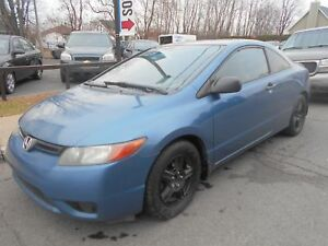 Honda Civic 2006 Bleu