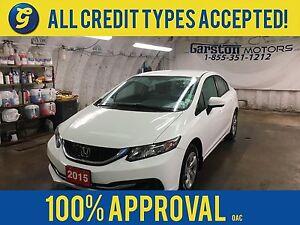 2015 Honda Civic BACK UP CAMERA*CLIMATE CONTROL*AM/FM/CD/AUX/USB