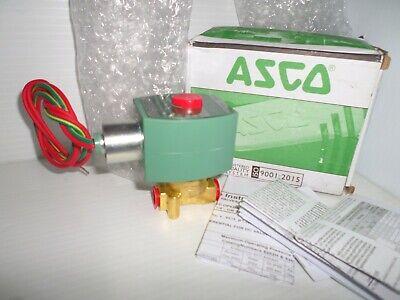 New In Box Asco 8262h232 2-way Solenoid Valve 14 120vac