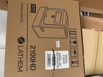 Lathem Heavy Duty Maintenance-free Thermal Print Time Clock 2100hd