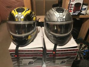 Snowmobile heated visor helmets!!!! Cheap