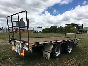 Nixons Bogie Axle Tag Trailer/Pig Trailer/Flat Top trailer Inverell Inverell Area Preview