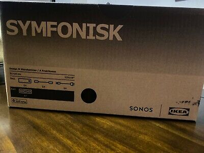 IKEA SONOS SYMFONISK WiFi Bookshelf Speaker black
