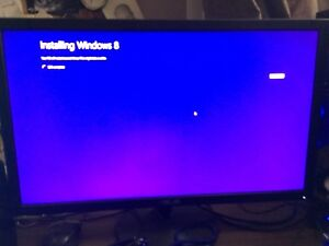 24 inch ASUS monitor