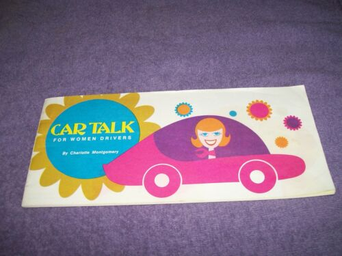 Vintage CAR TALK FOR WOMEN DRIVERS booklet brochure Citgo / Cities Service Oil