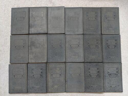 SET OF 18 BOOKS LA SALLE EXTENSION UNIVERSITY CHICAGO, BUSINESS MANAGEMENT 1920s