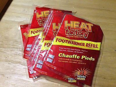 Heat Factory Foot Warmers 40 Pair Made in USA ()