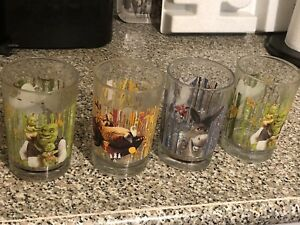 Shrek Recalled McDonalds Glasses