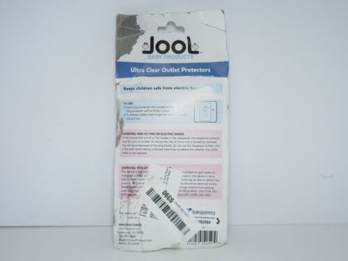 Jool Baby Outlet Plug Covers (32 Pack) Clear Child Proof Electrical Protectors