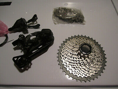 Shimano Deore XT M8000 Groupset Drivetrain Group 11-speed Derailleur