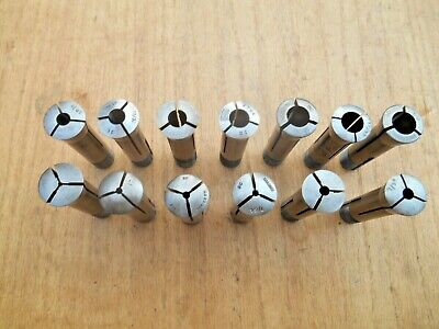 3c Collet Lot Hardinge South Bend Grand Rivett Others Lot Of 13