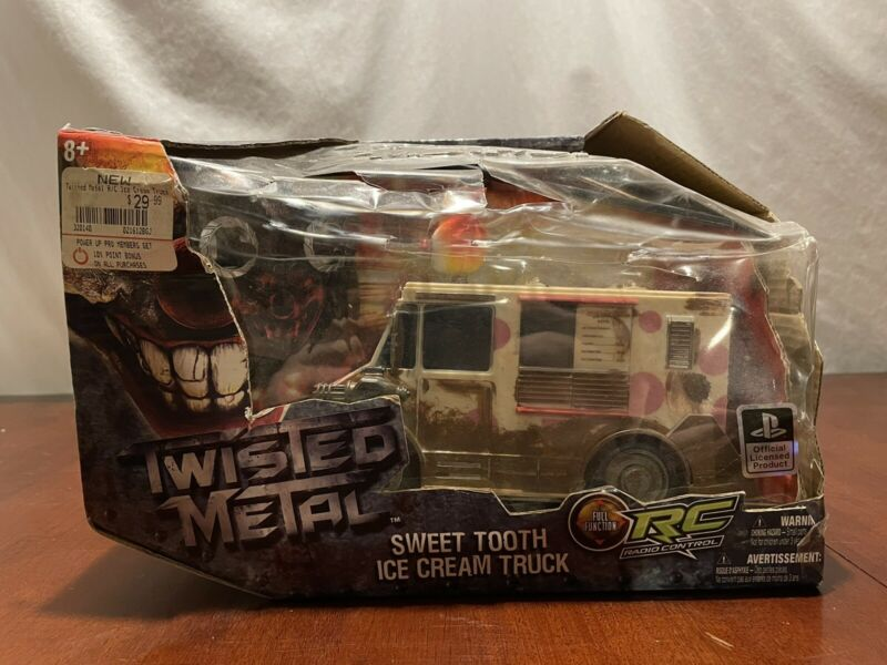 2011 Playstation Twisted Metal Sweet Tooth Ice Cream Truck RC Radio Control Car