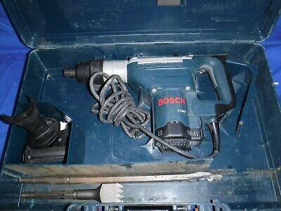 Bosch 11247 Spline 1 916 Combination Rotary Hammer Drill With Bits Case