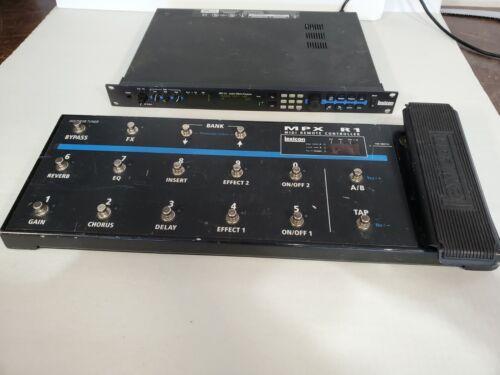 Lexicon MPX-G2 Guitar Multi-Effects Processor with MPX R1 MIDI Remote Controller