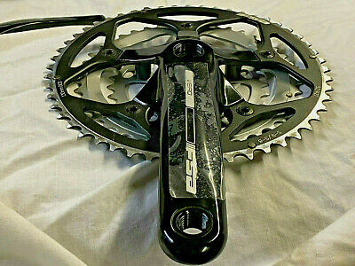 FSA Road bike Vero Compact Chainset 175mm 9 Speed 50T 34T 110BCD Square Taper