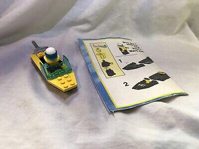 Lego 1562 Vintage Wave Runner Minifigure Complete Set