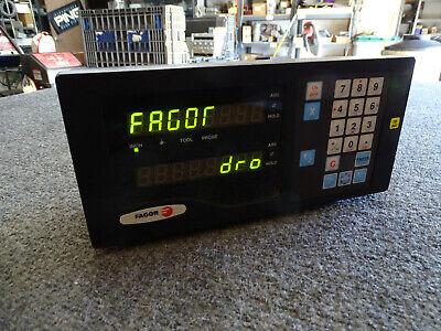 Fagor Nv21rs Digital Readout Dro Cnc Free Ship