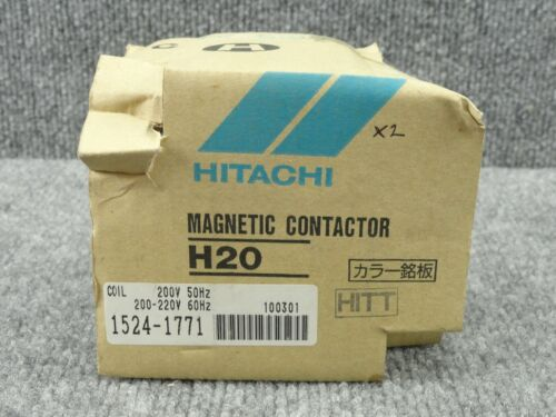 New Unused Hitachi 1524-1771 H20 Magnetic Contactor