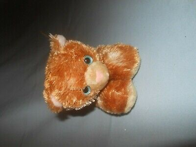 """Used, Aurora Kitten Cat Plush 9"""" length Tabby Orange for sale  Shipping to Canada"""