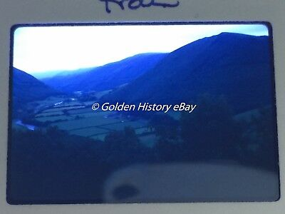 VALLEY FROM TRAIN 1970 RHEIDOL 35mm SLIDE PHOTO PICTURE PHOTOGRAPH
