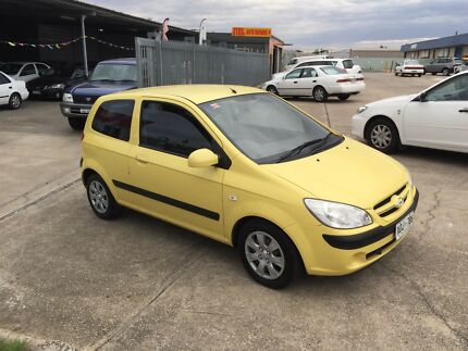 Hyundai getz 2007 low kms, books, 5 speed, $3450
