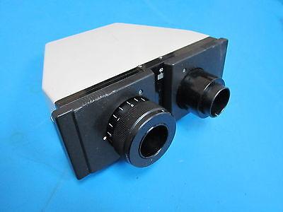 Olympus Binocular Microscope Head Piece Sn 535193