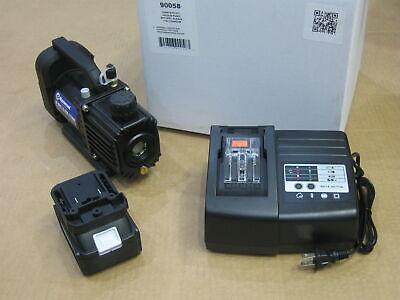 Mastercool 18 Volt Cordless Vacuum Pump 1.5 Cfm Kit 90058